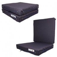 Folding Cushion seat Navy Blue